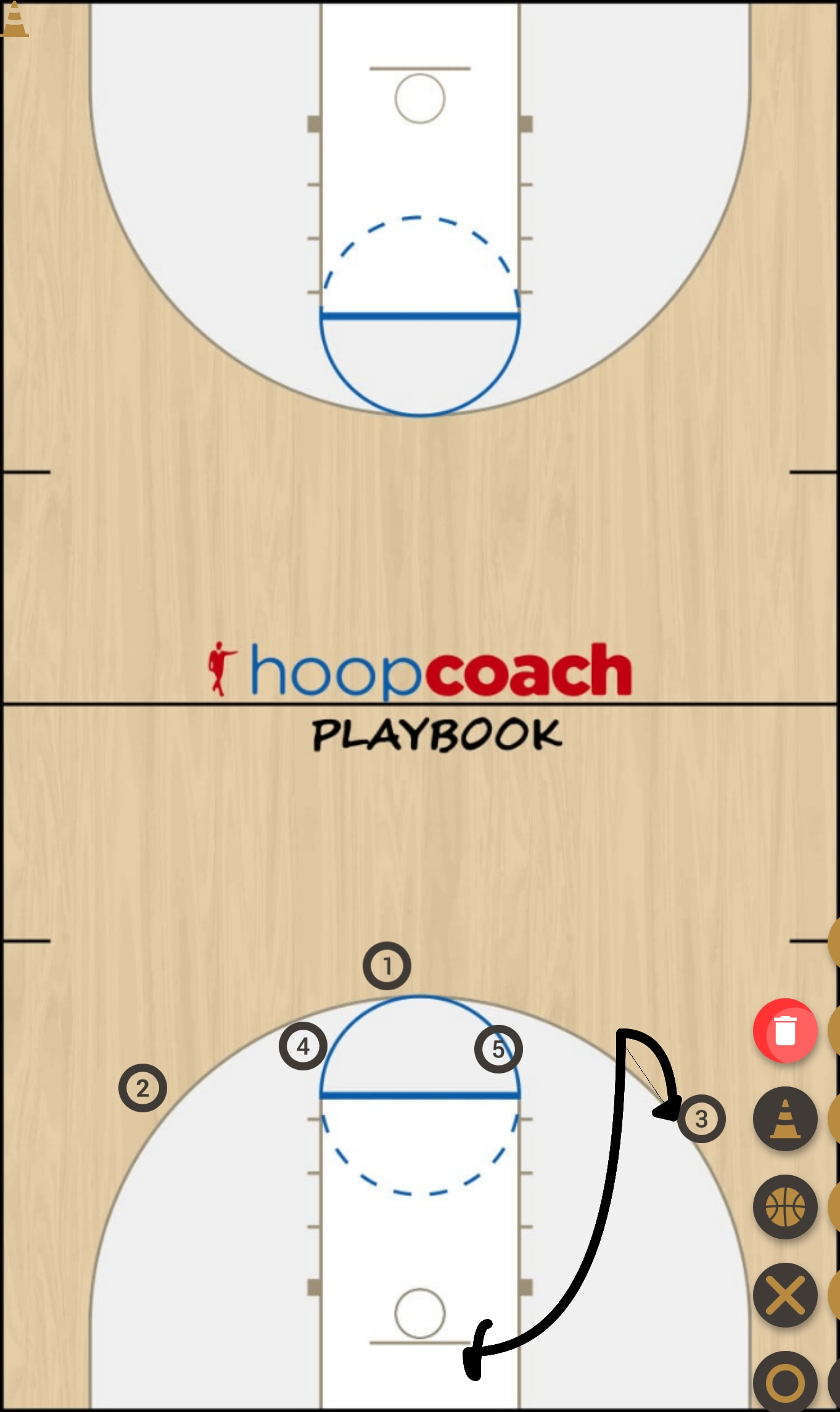 Basketball Play  f Quick Hitter
