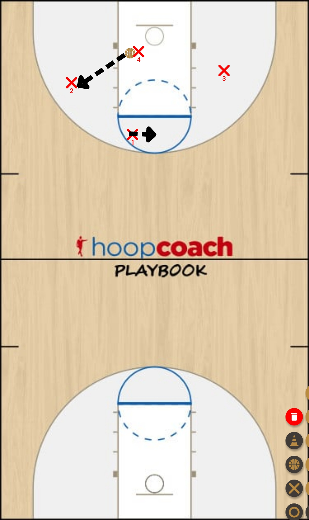 Basketball Play u11 jeu rapide   Man to Man Offense