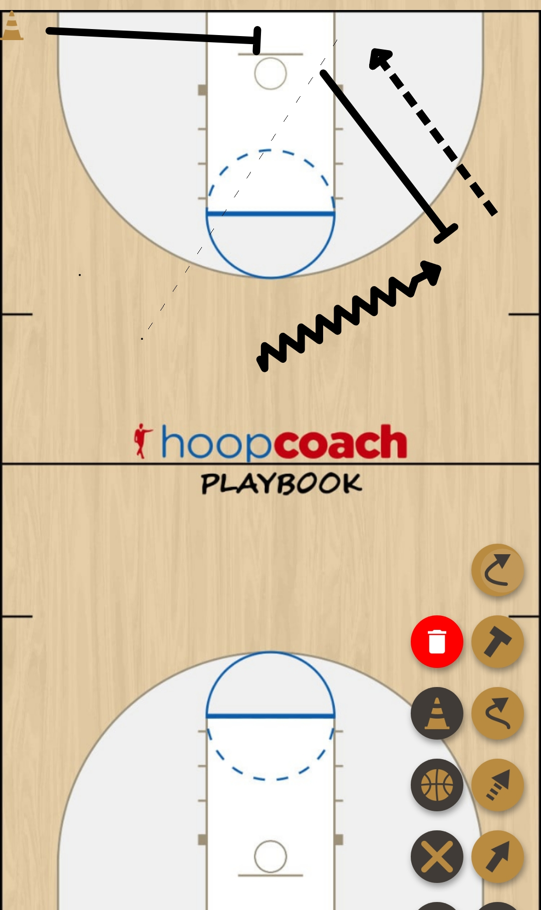 Basketball Play horns  Man to Man Set