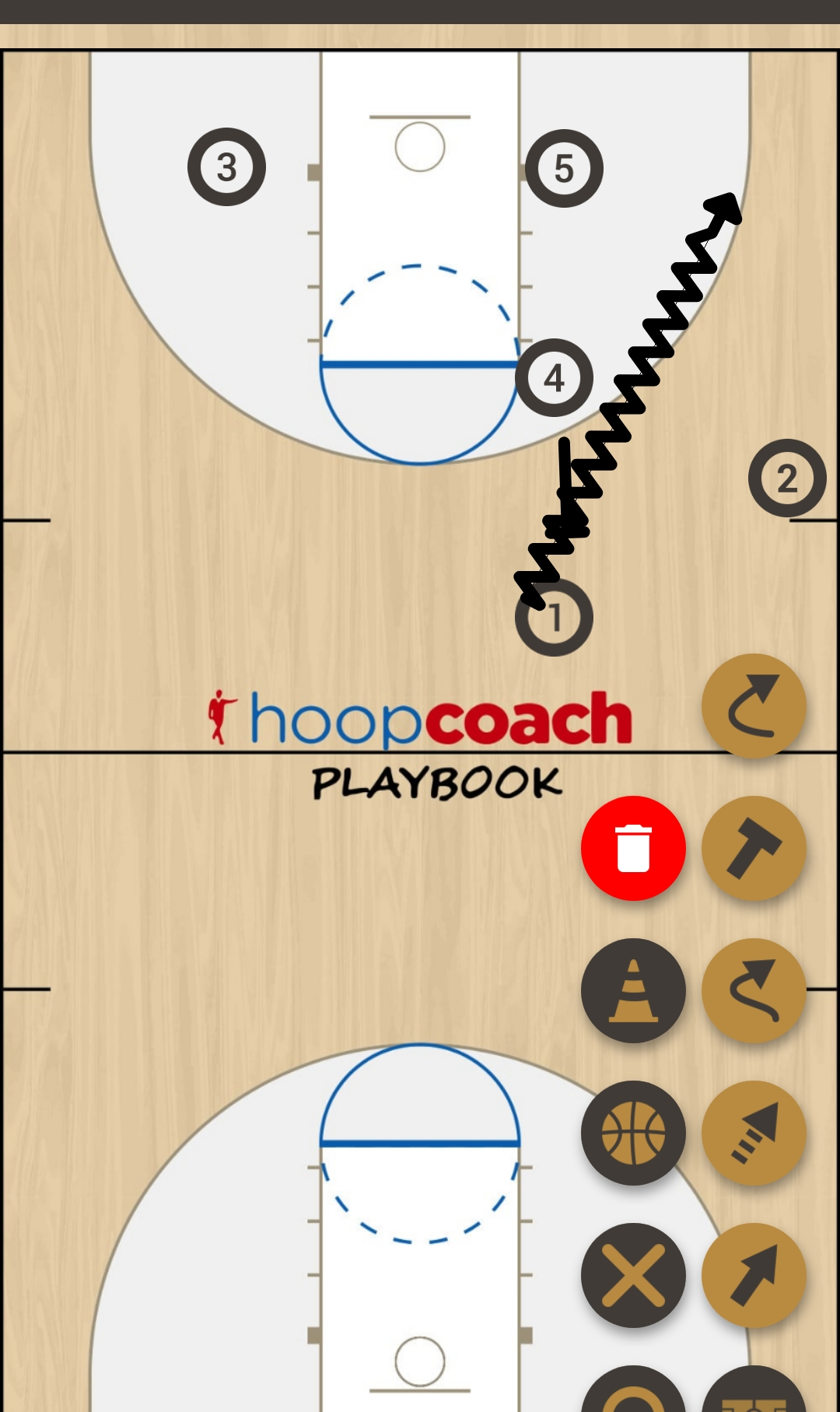 Basketball Play Échauffement  Basketball Drill