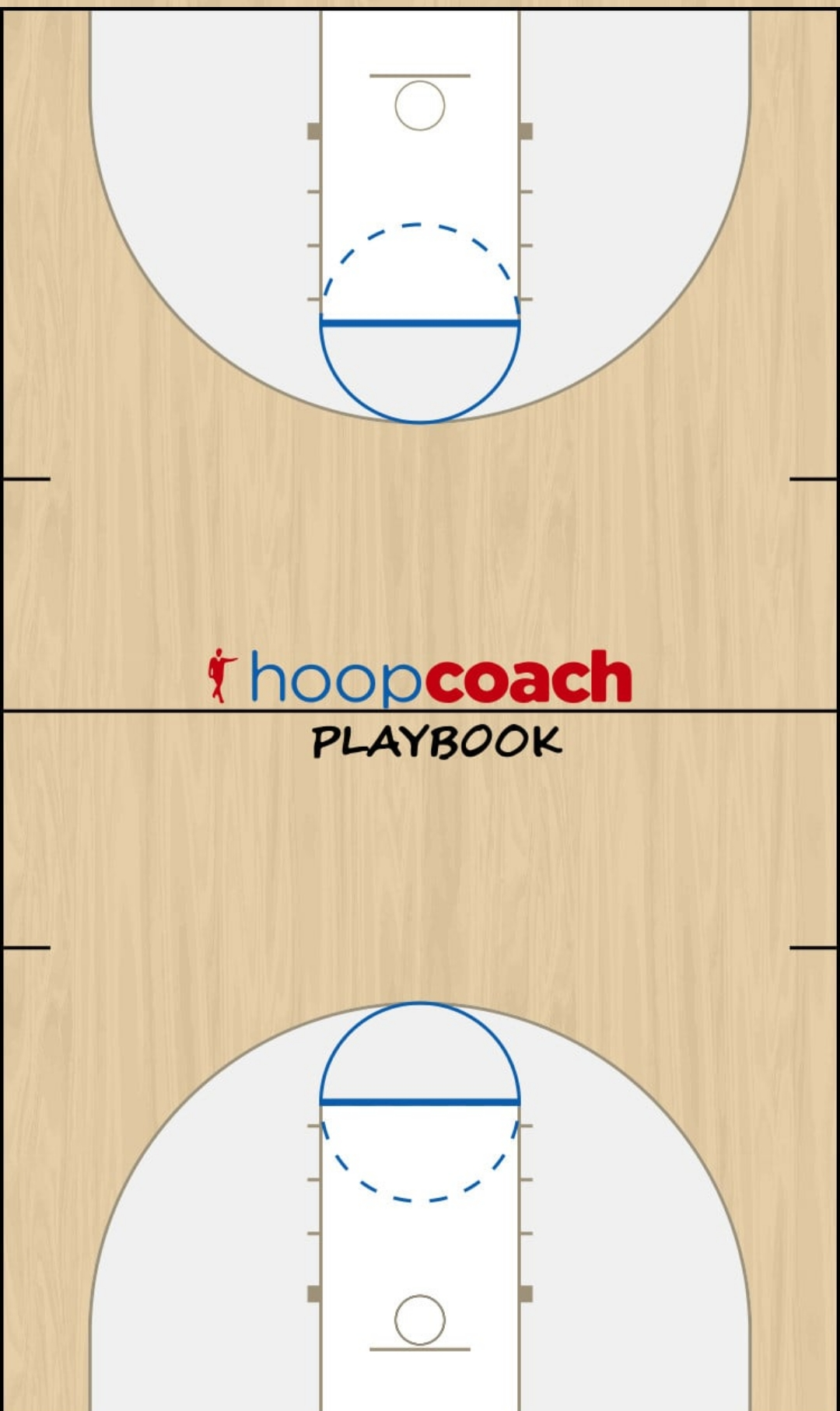 Basketball Play Base Man to Man Offense transizione