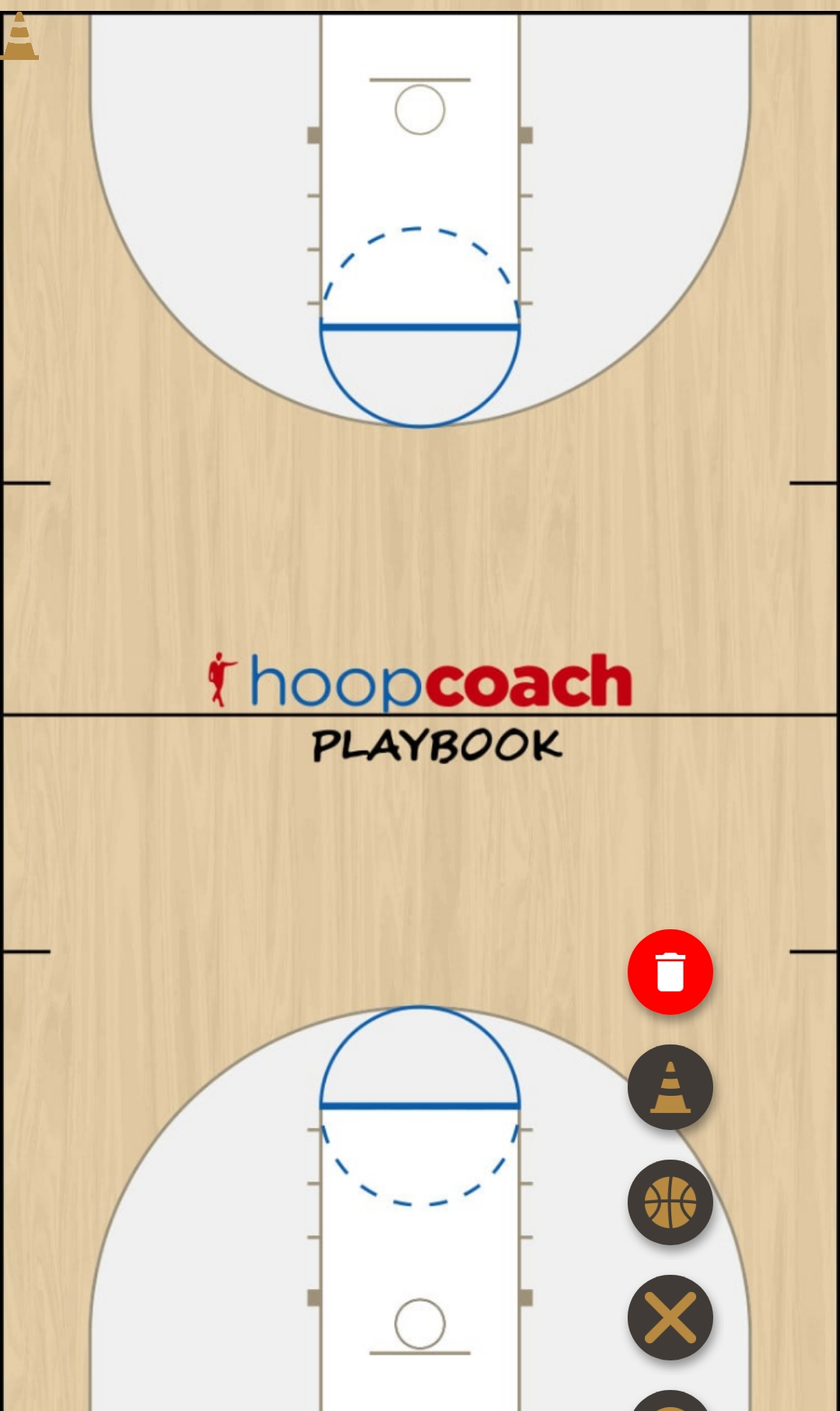 Basketball Play Ruben Man to Man Set