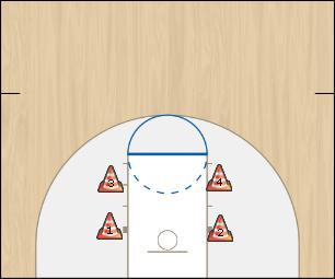 Basketball Play MSU Basketball Drill shooting drill