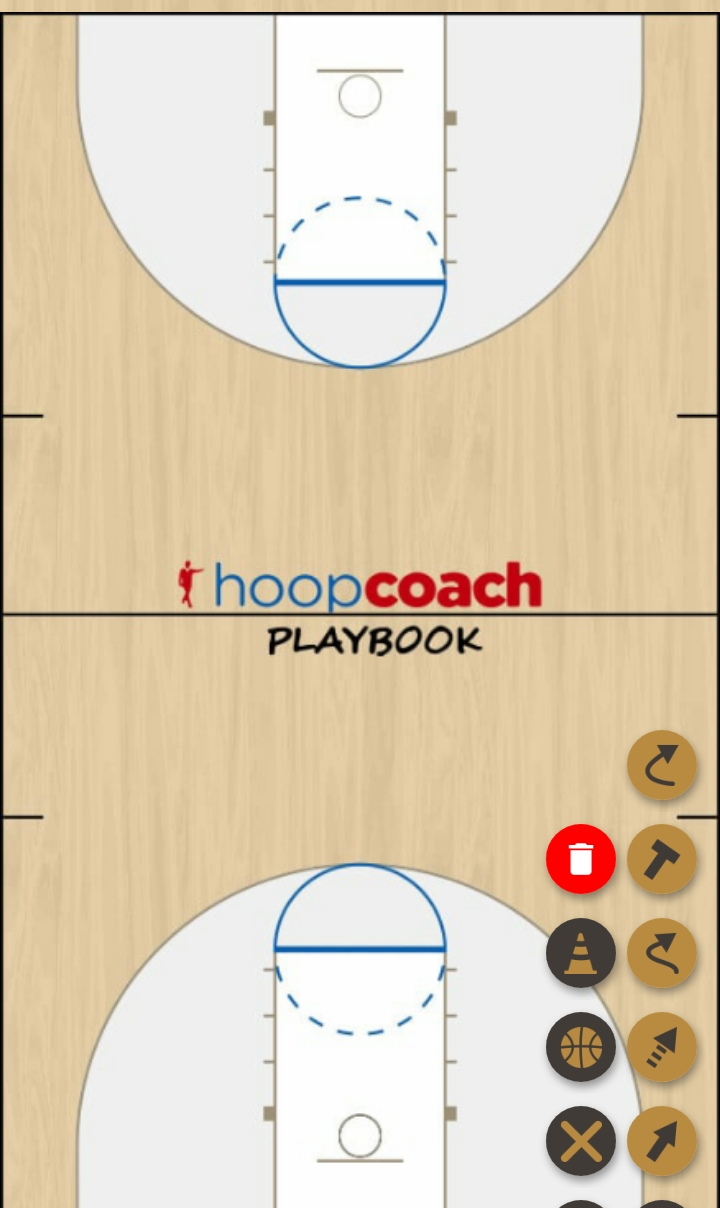Basketball Play center screen Zone Play