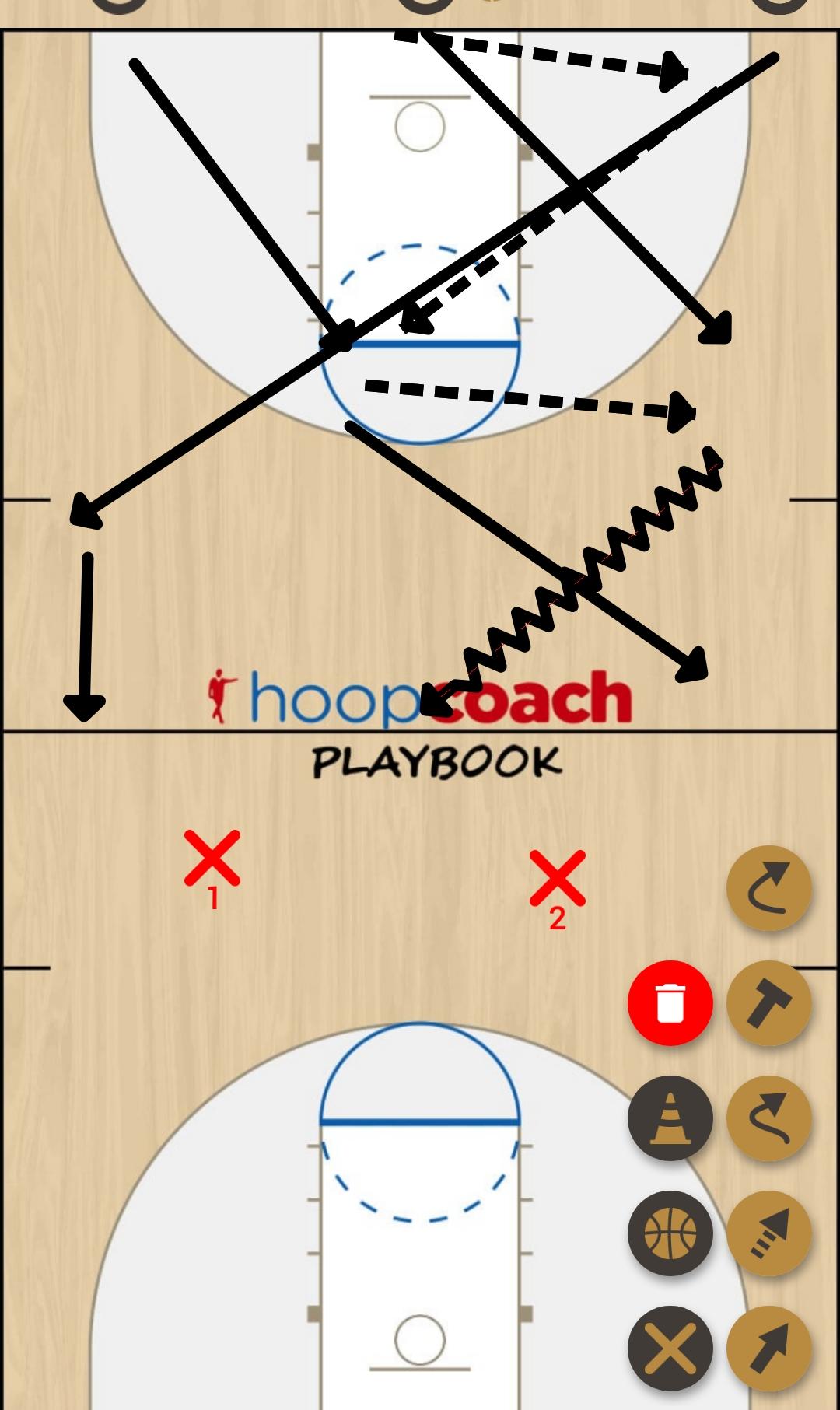 Basketball Play ciai Man to Man Set