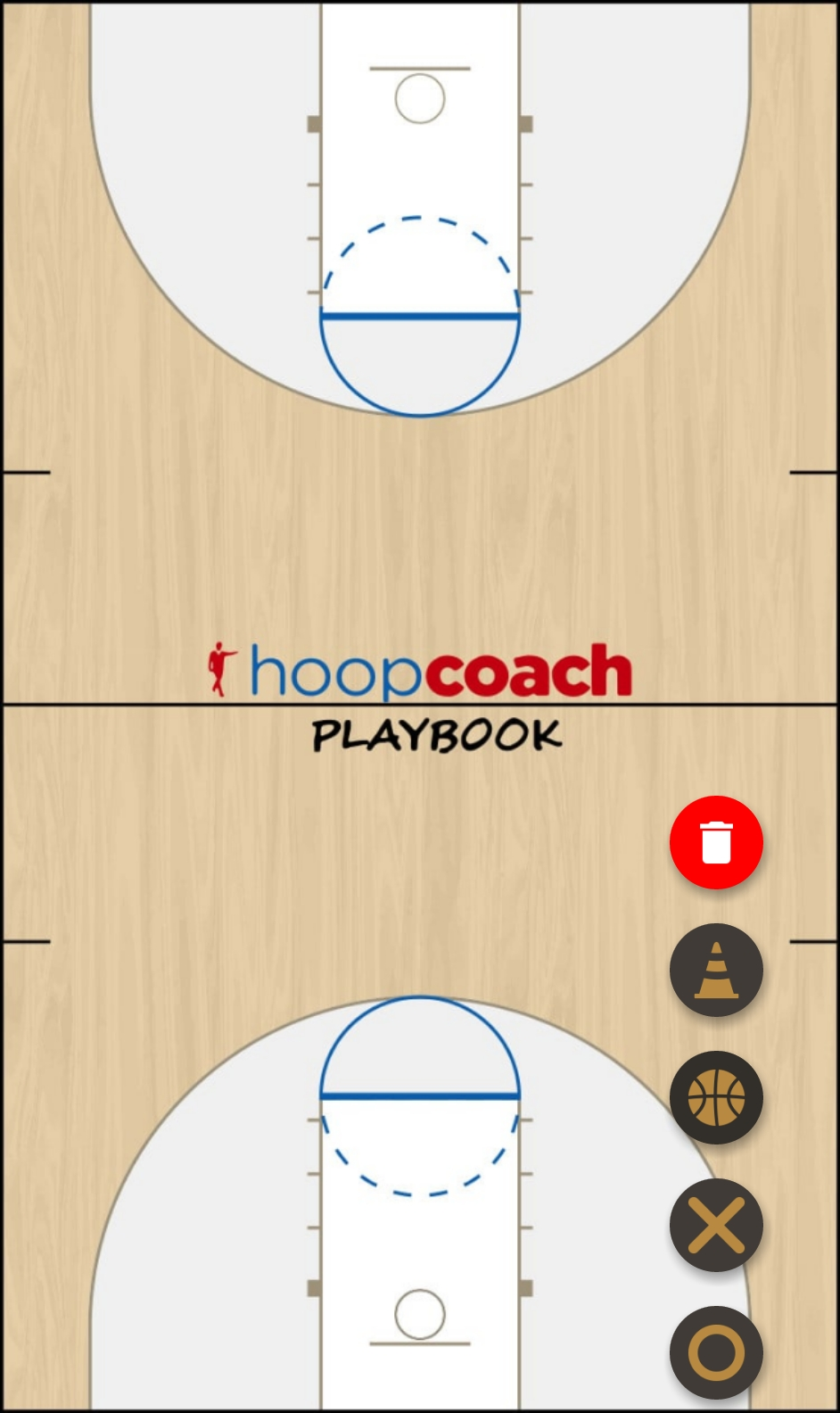 Basketball Play box Man to Man Set man