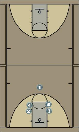 Basketball Play hamster 2 Zone Play