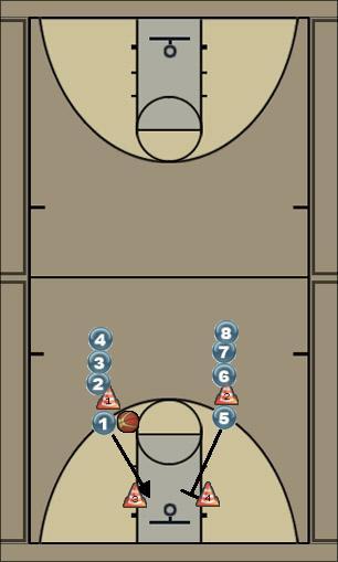 Basketball Play Layup & Rebound Basketball Drill