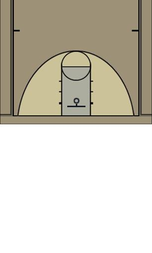Basketball Play Triangle and 1 Defense