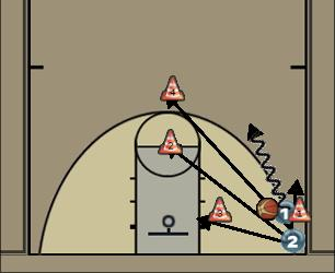 Basketball Play F05 Basketball Drill