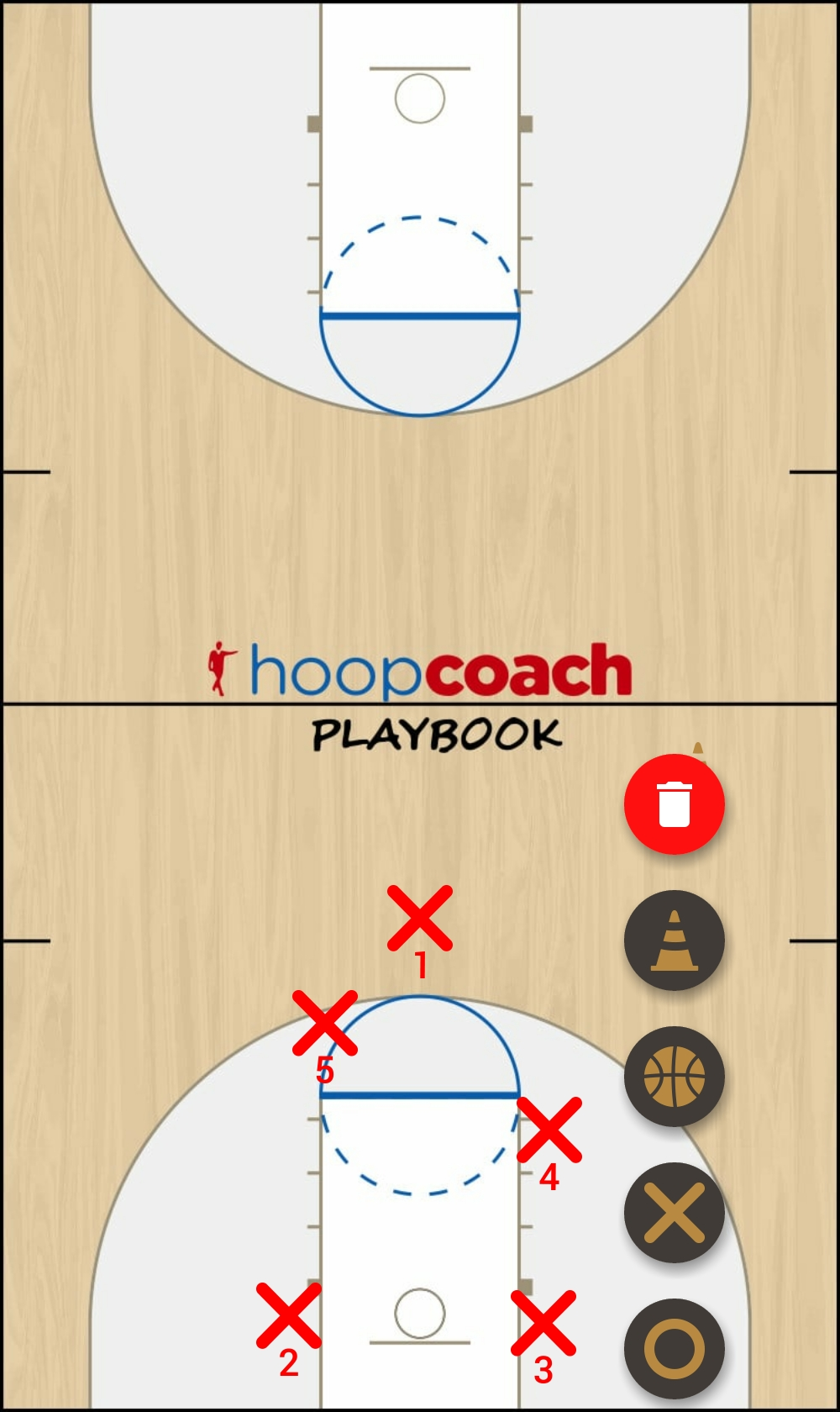 Basketball Play dawg Man to Man Set