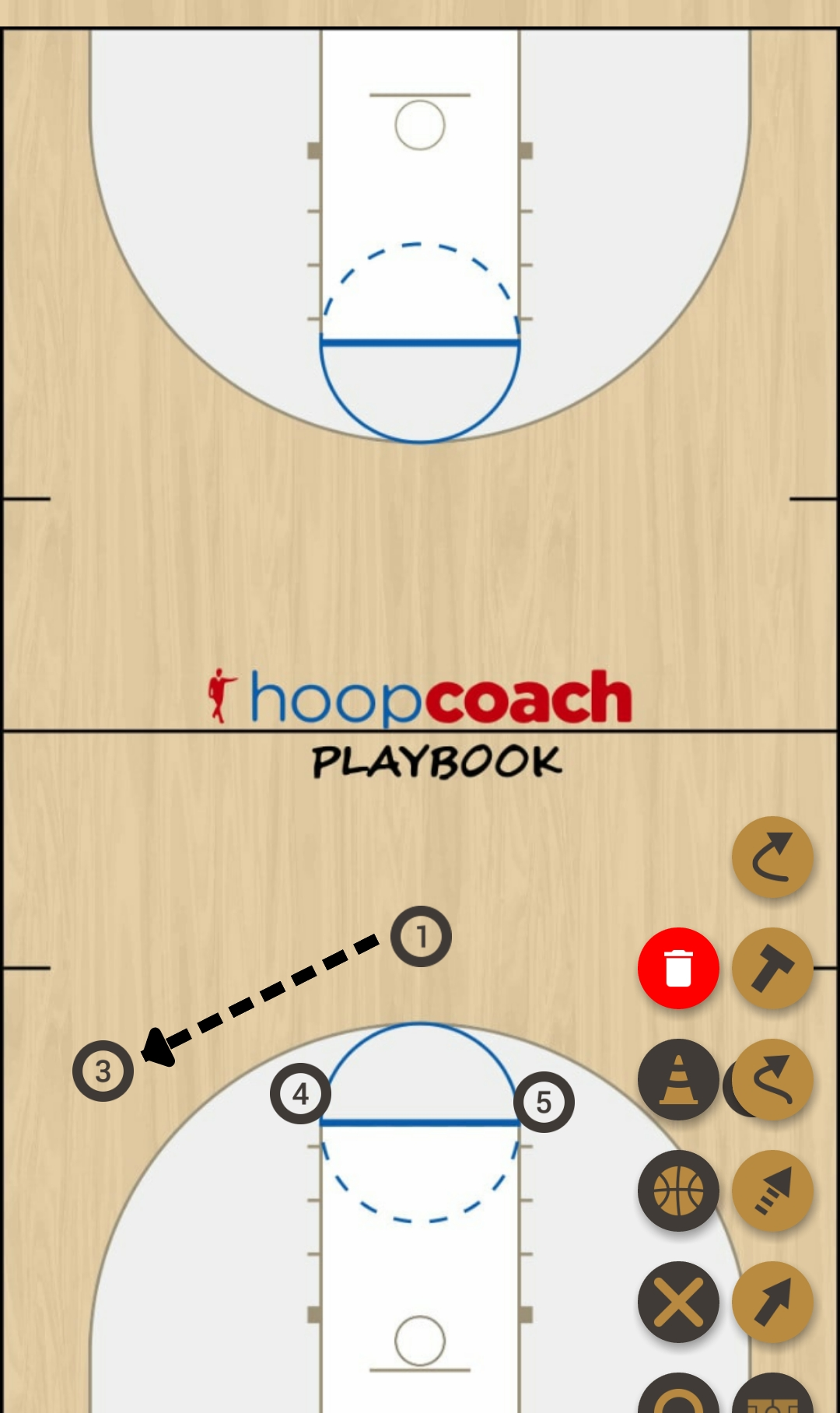 Basketball Play corner Man to Man Set