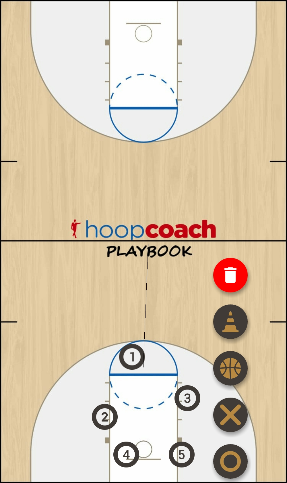 Basketball Play easy score Quick Hitter