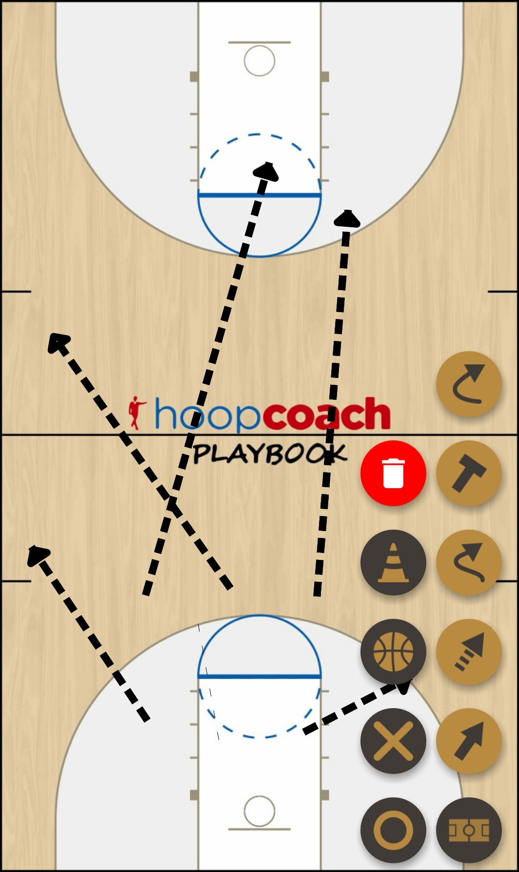 Basketball Play pink panther  Man to Man Set