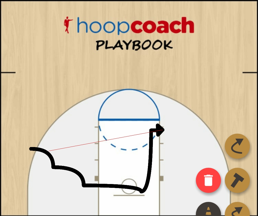 Basketball Play Stack Zone Play