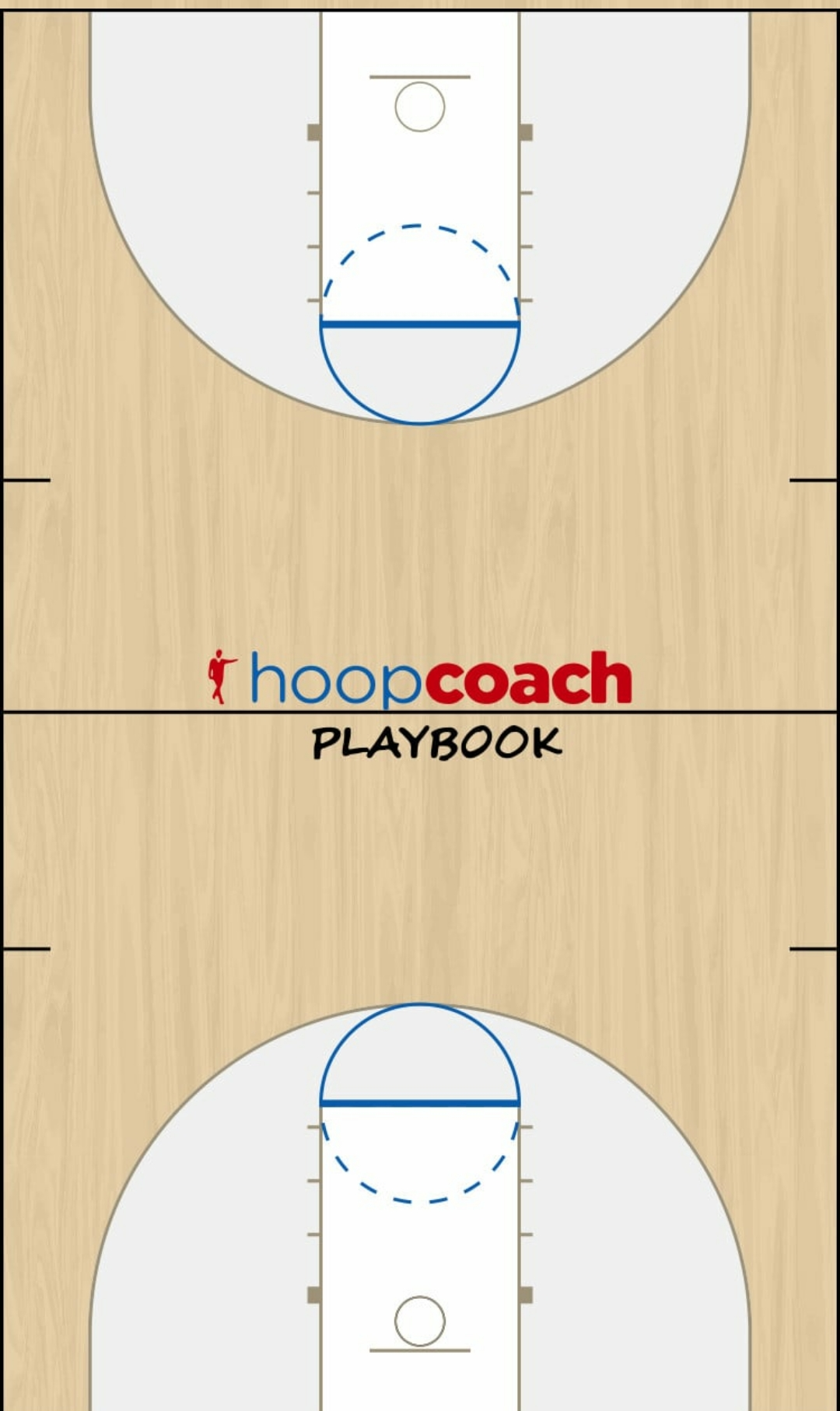 Basketball Play read and react - corners Man to Man Offense