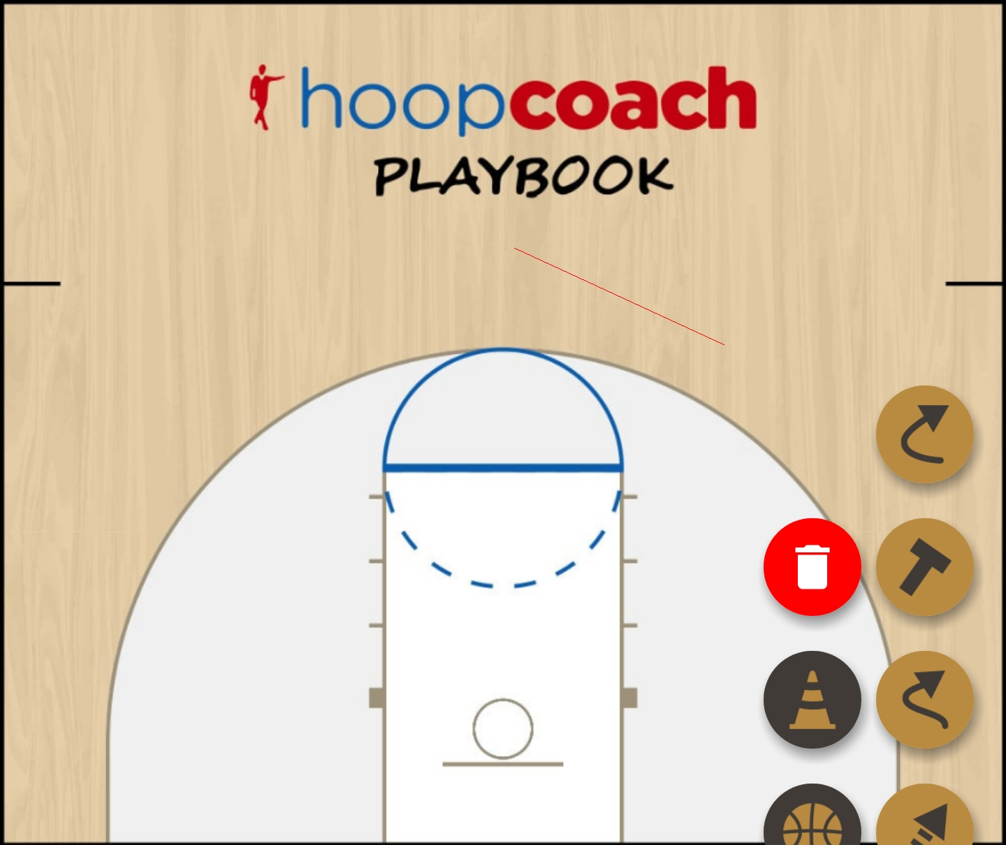 Basketball Play play1 Zone Play