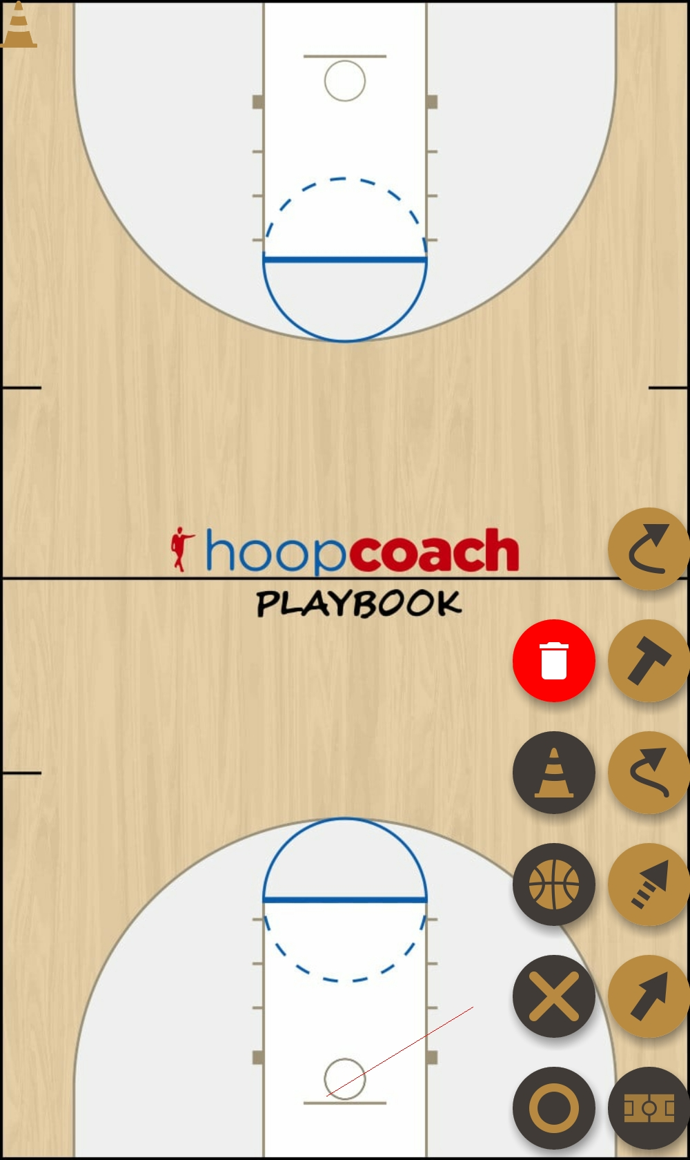 Basketball Play dip Man to Man Offense