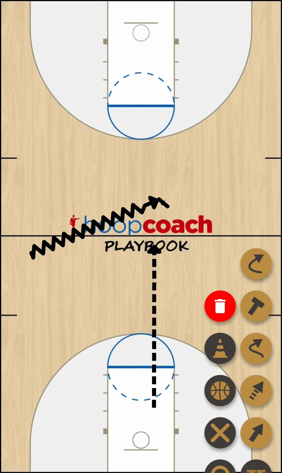 Basketball Play Norman  Defense