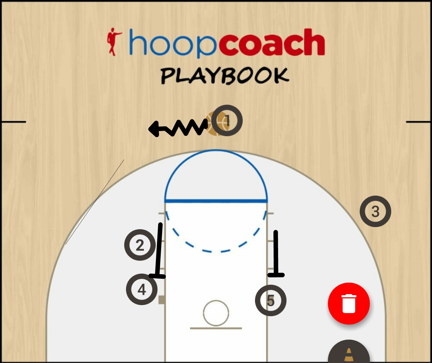 Basketball Play Dilly Dilly Man to Man Set