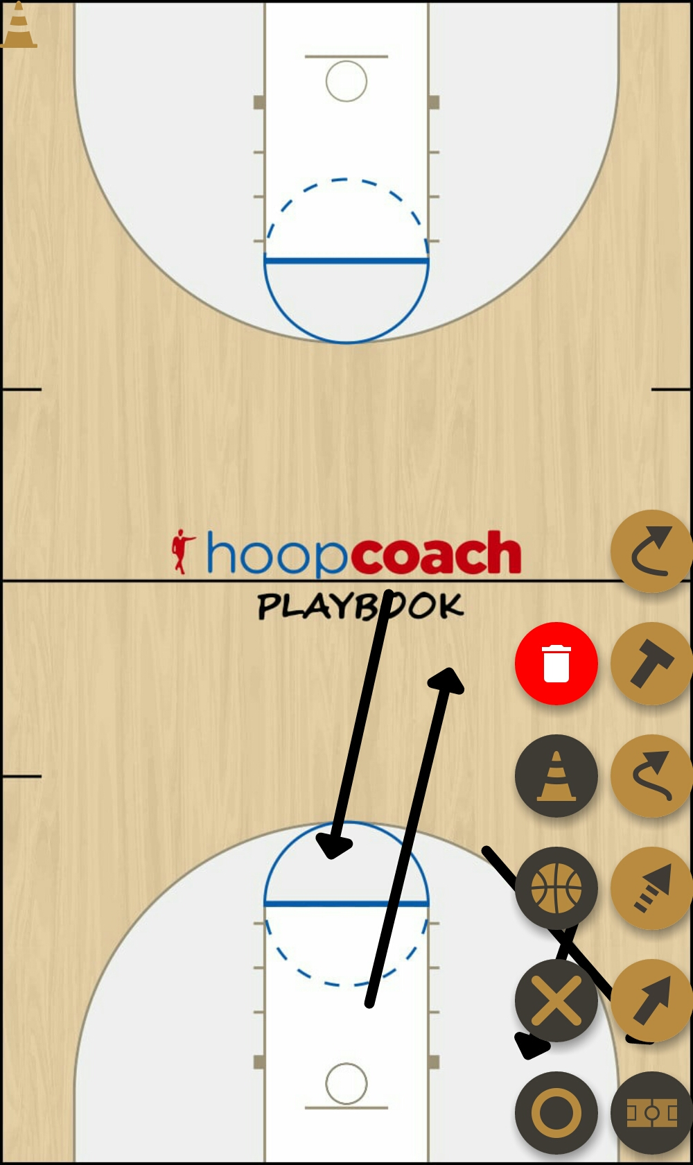 Basketball Play 2-3 Zone Play