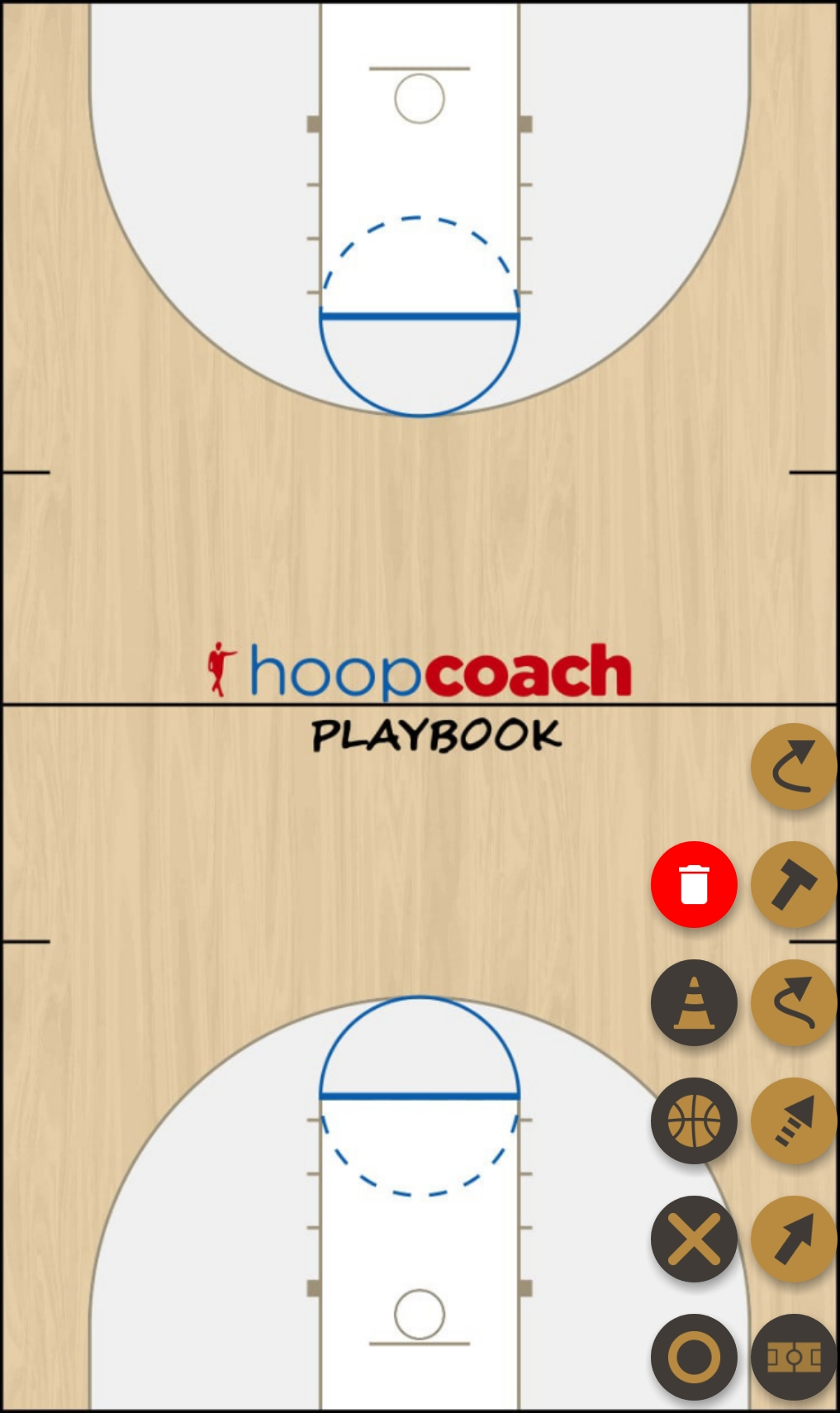 Basketball Play Test Man to Man Set
