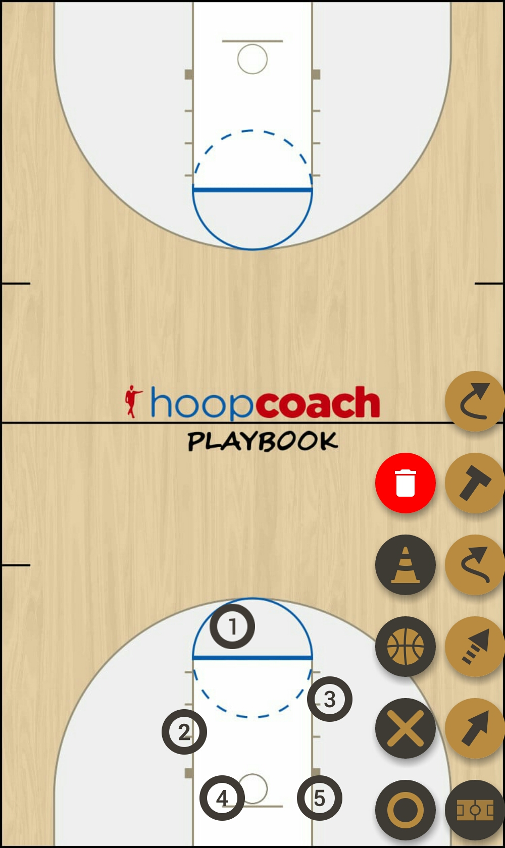 Basketball Play g Man to Man Set