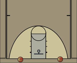 Basketball Play Zig Zag Cone Drill Basketball Drill