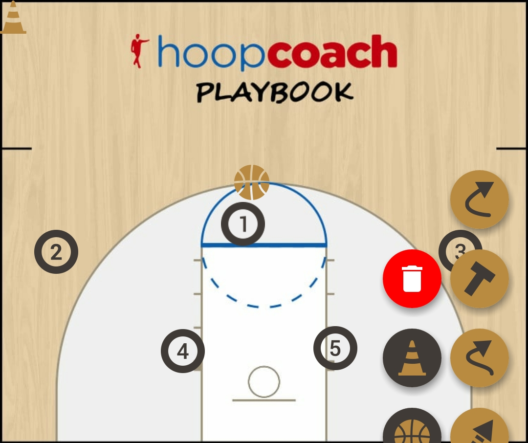 Basketball Play 1  Zone Play