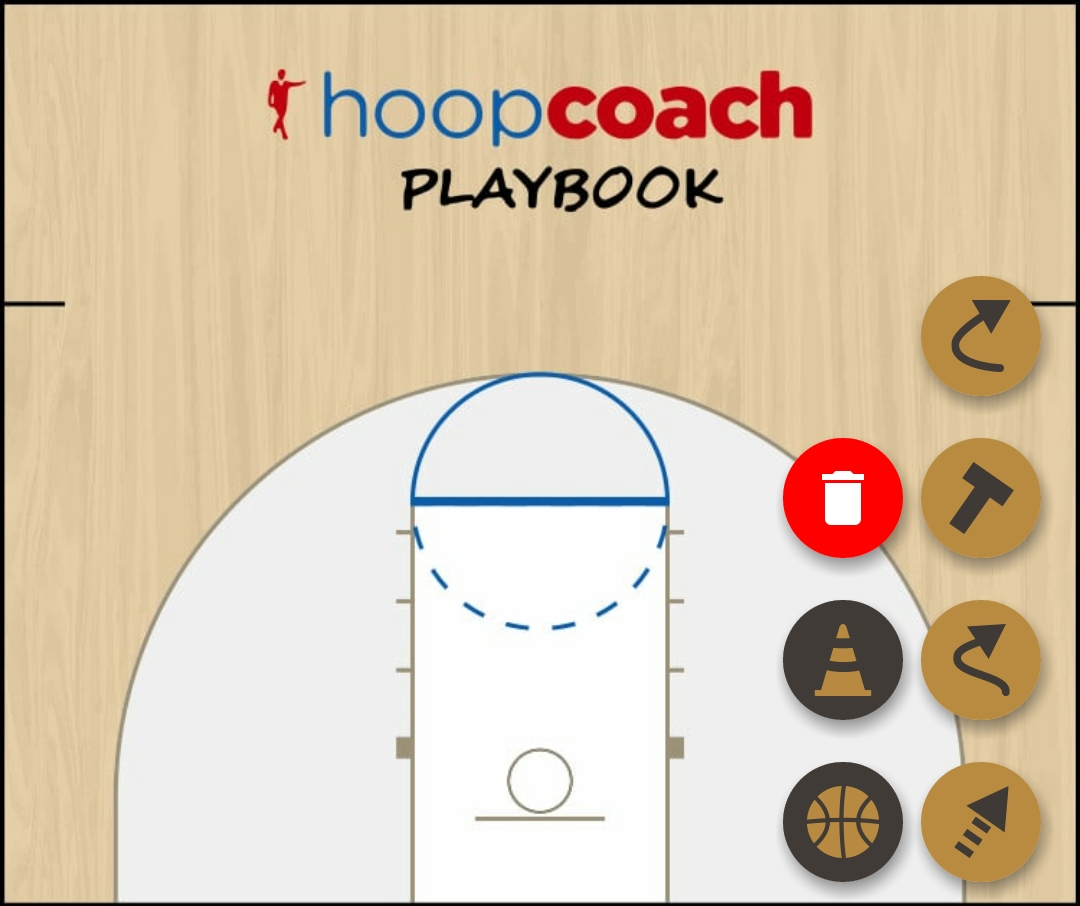 Basketball Play BLOB 11 Zone Baseline Out of Bounds