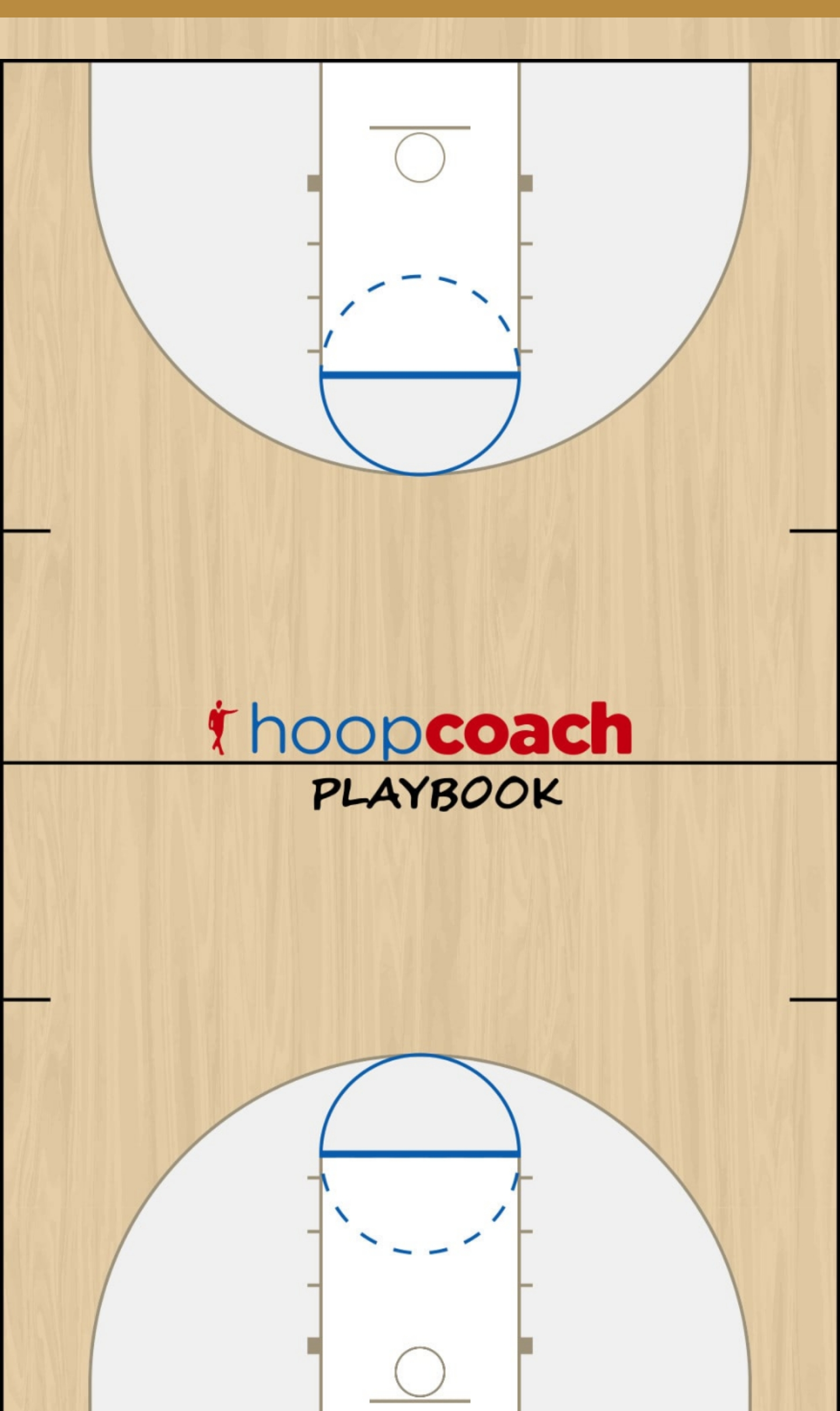Basketball Play BLOB #1 Man to Man Set baseline inbounds