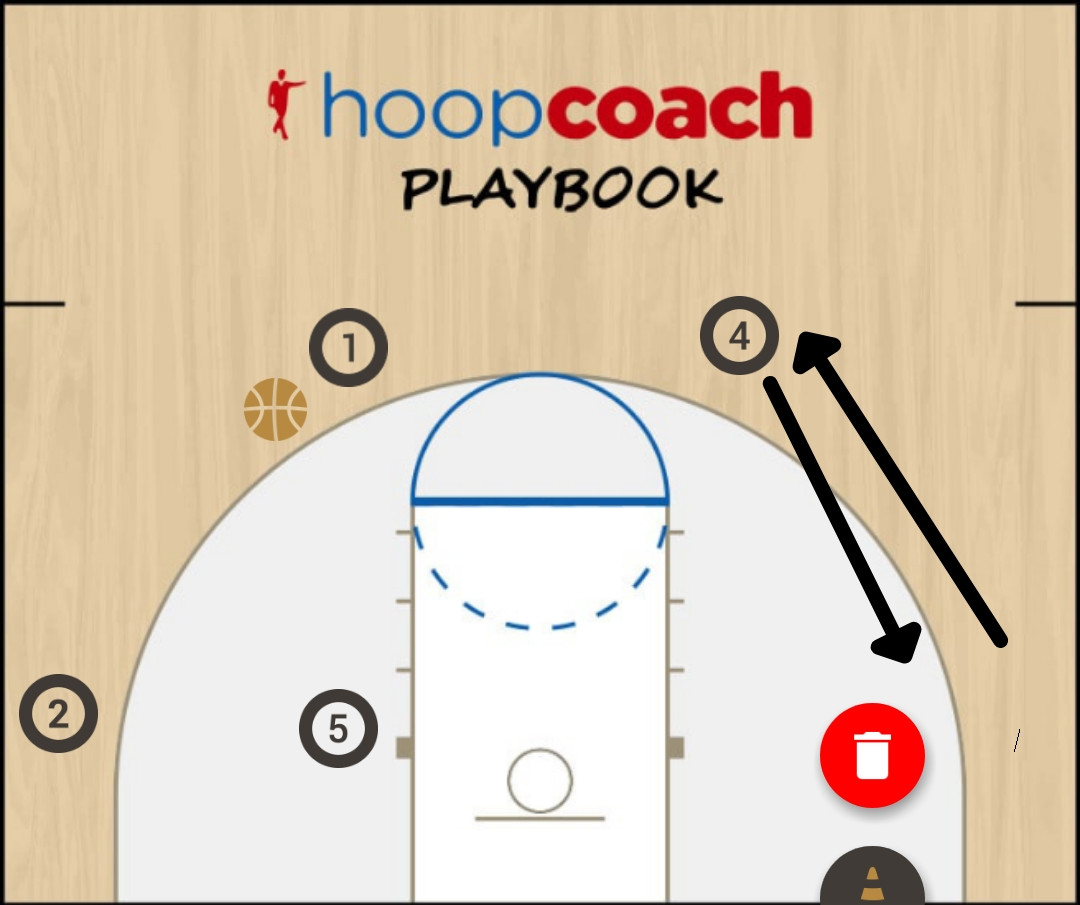 Basketball Play Toronto Man to Man Set