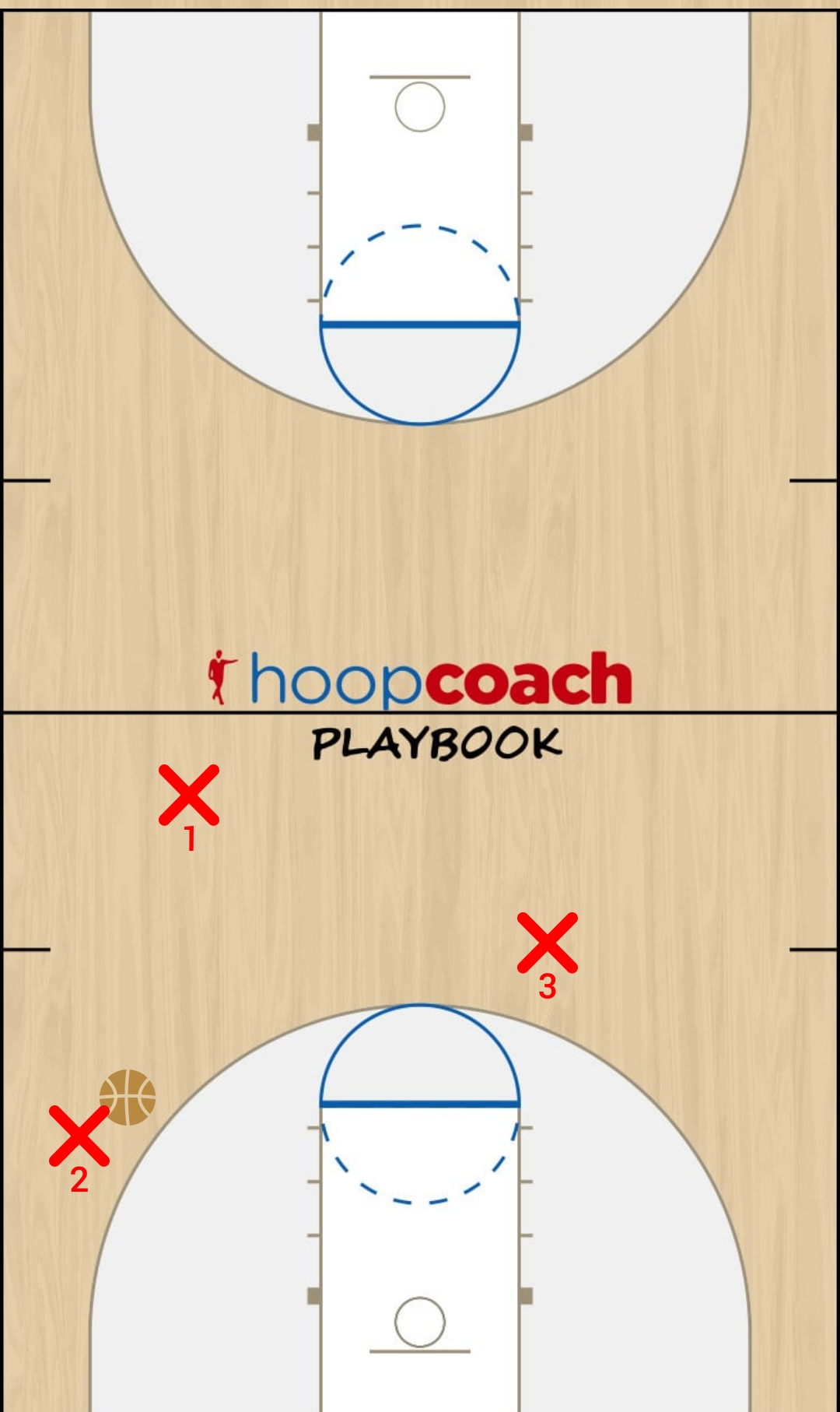 Basketball Play 007 Quick Hitter