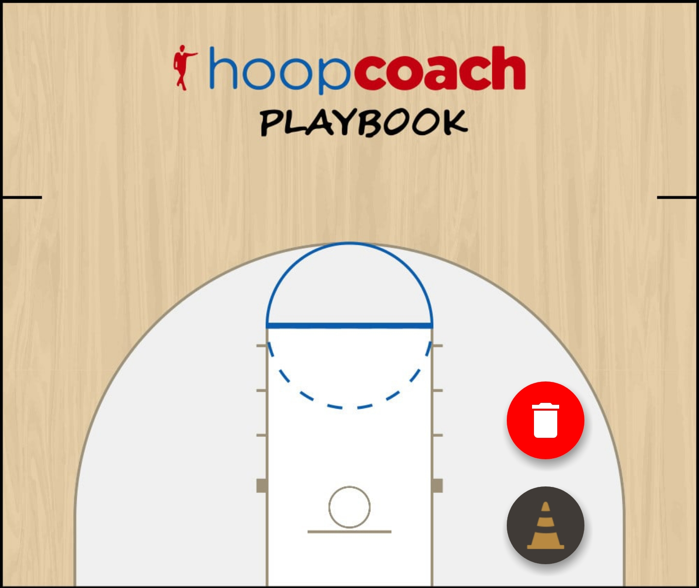 Basketball Play low stack Man Baseline Out of Bounds Play