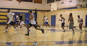 basketball practice