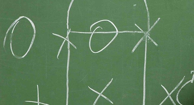 X's and O'x Chalkboard