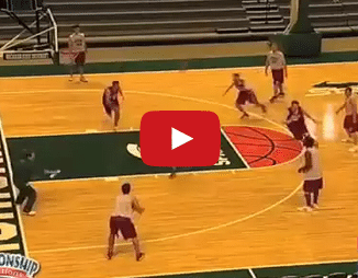 Tom Izzo Defense Drill