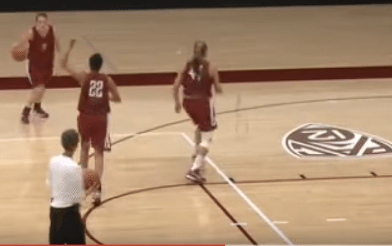 pick and roll passing series