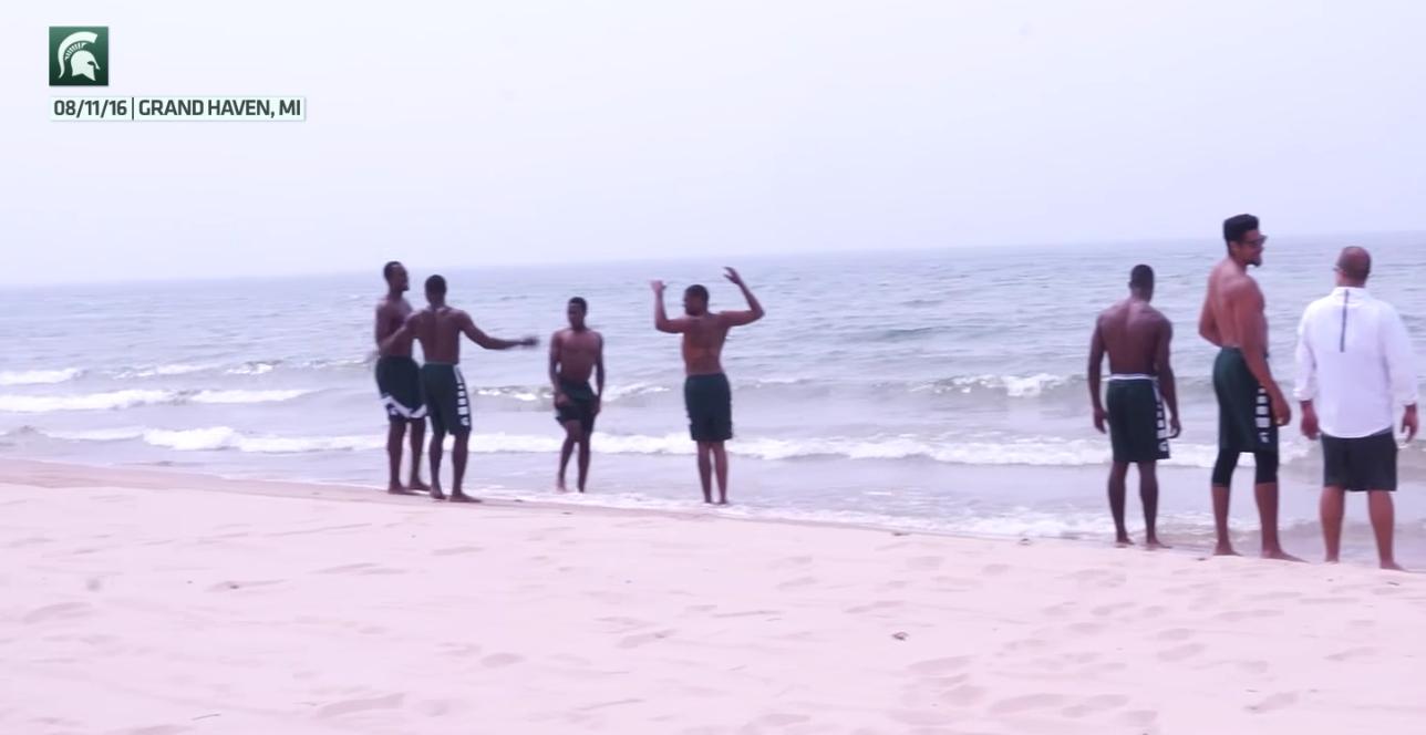 beach workout michigan state