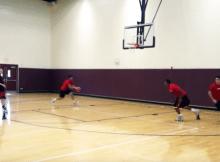 backdoor passing drill
