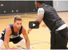 basketball training session video