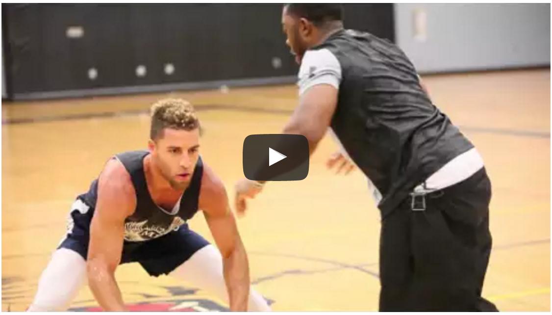 basketball training session video