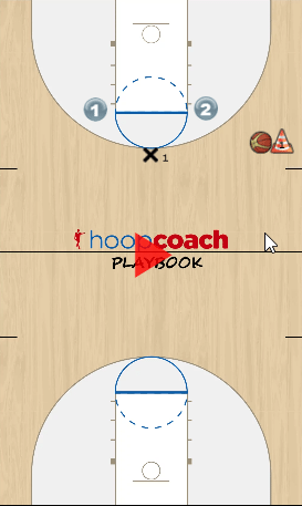 2 on 1 Transition Drill Animation