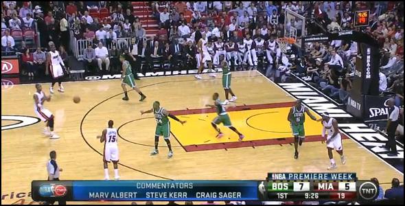 basketball spacing